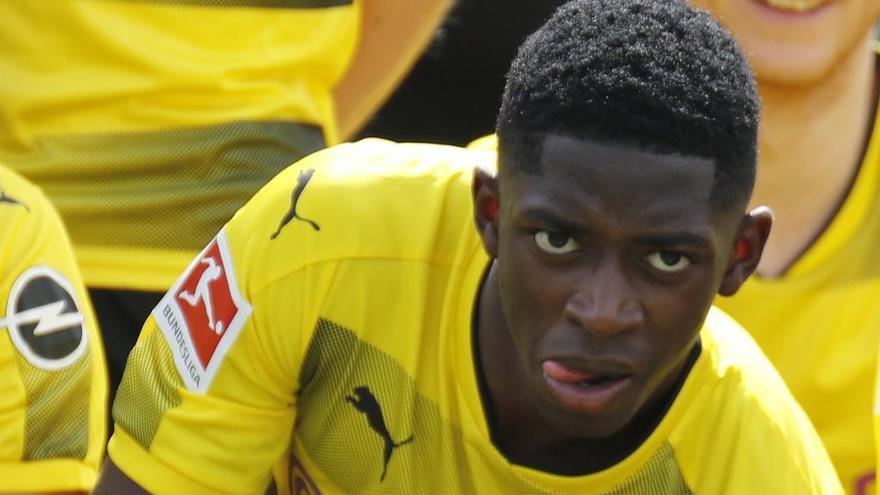 El Dortmund rechaza la oferta del Barça por Dembélé