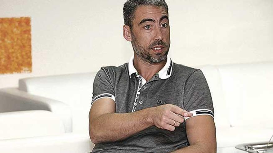 """Marcelino Elena: """"El Mallorca aprovecha muy bien los errores de los rivales, es un equipo que no te permite fallar"""""""