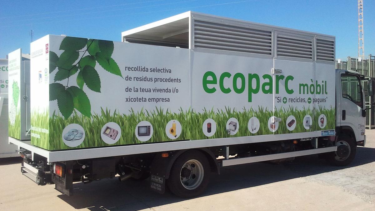 Los ecoparques consorciados reciclaron 132 kilos por persona el año pasado.