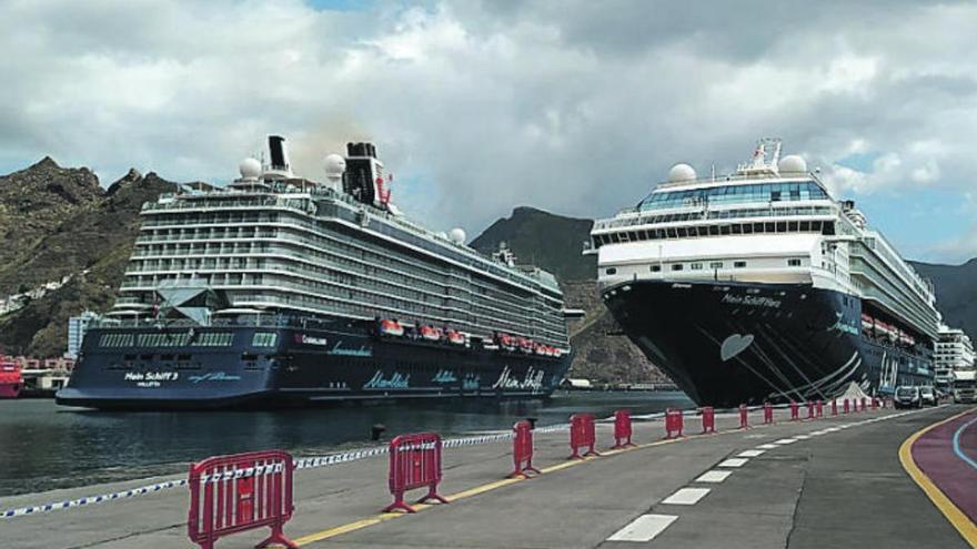 El Mein Schiff 2 hará este martes escala en Tenerife