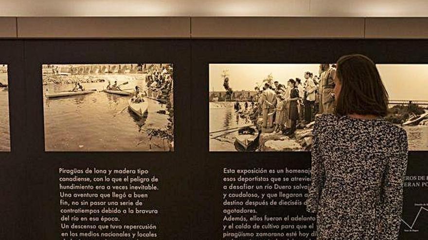 Últimos días de la muestra sobre el viaje en piragua a Oporto