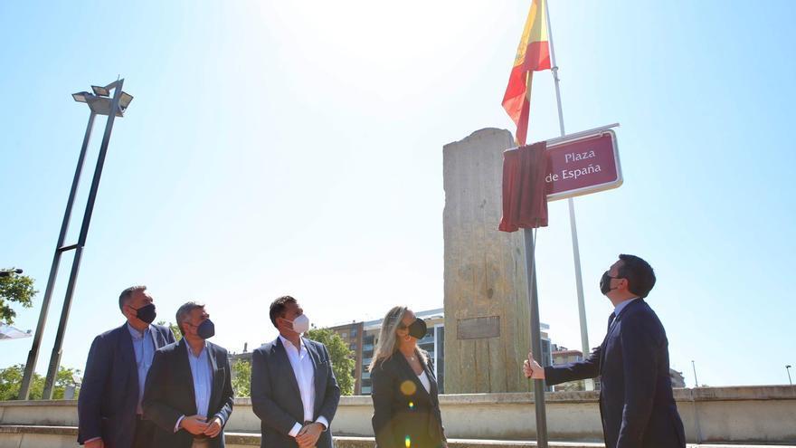 La zona de la bandera en Llanos del Pretorio en Córdoba ya se llama Plaza de España
