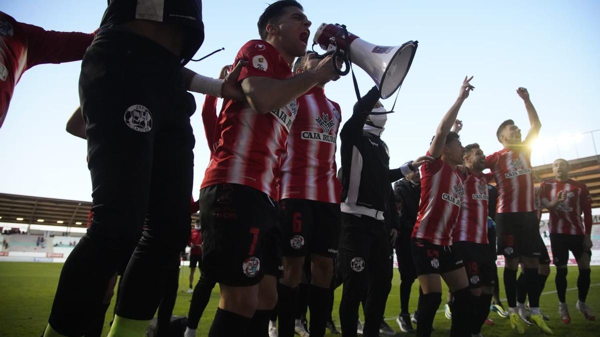 GALERÍA | Los mejores momentos del Zamora CF-Compostela (1-1)