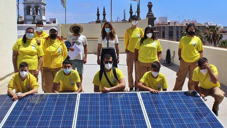 La energía solar, fuente de trabajo