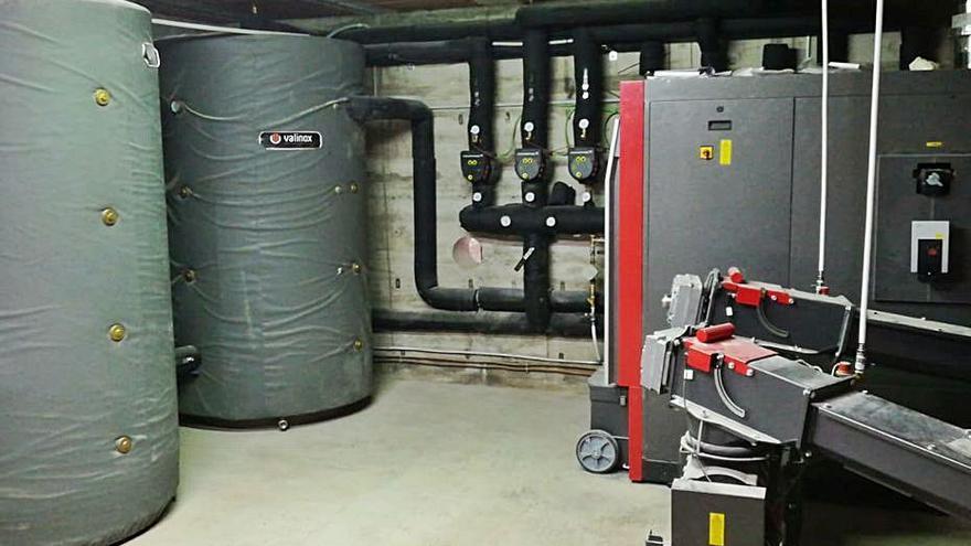 Monistrol de Calders escalfarà nou equipaments públics amb biomassa