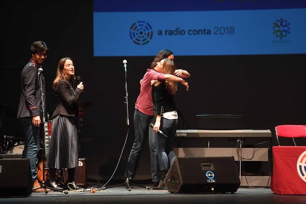 A Radio Conta, en el Rosalía en favor de Asperga