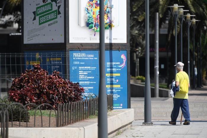 Fotos curiosas del domingo en la capital.