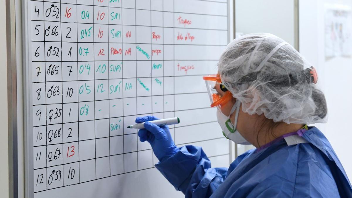 Activitat assistencial contra l'epidèmia
