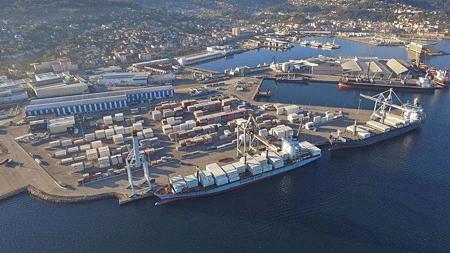 El Puerto de Marín sufriría una caída de unas 400.000 toneladas de tráfico al año