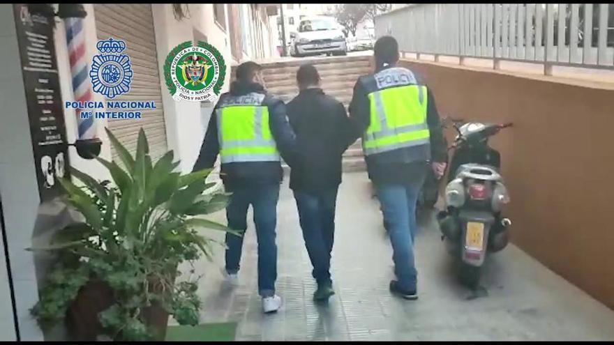 Detienen en Alicante a un exguerrillero colombiano buscado por crímenes en su país
