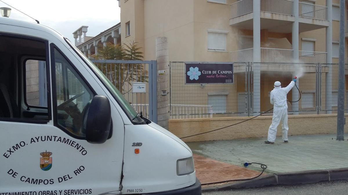 """""""Los vecinos de Campos del Río llevan el confinamiento de una manera ejemplar"""""""