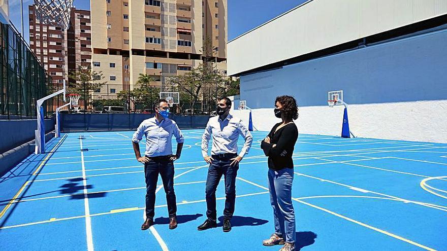 Deportes pone en marcha la cancha anexa al Paco Álvarez después de su rehabilitación