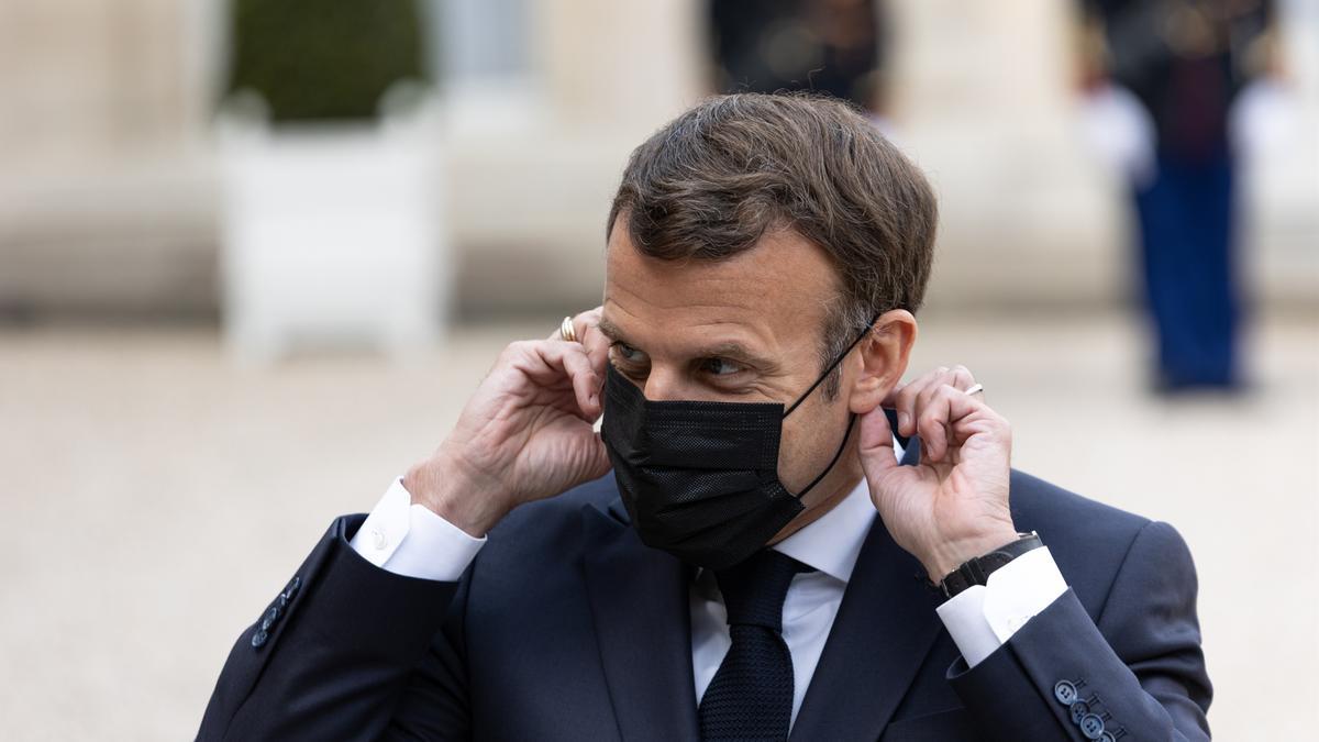 El presidente de Francia, Emmanuel Macron