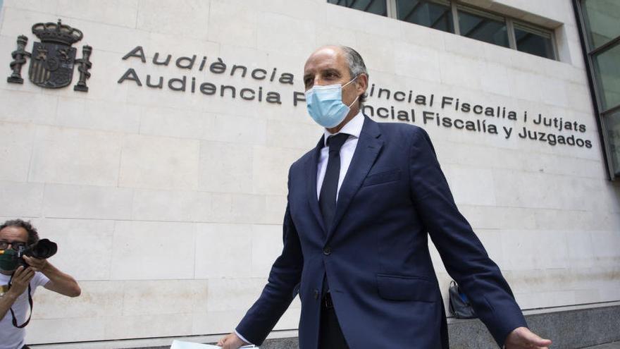 Anticorrupción pide actuar contra Camps por falso testimonio en el juicio de la visita del papa