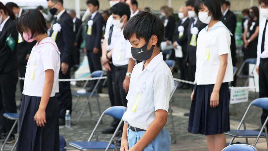 Nagasaki insta a apoyar tratado antinuclear en 76 aniversario del bombardeo