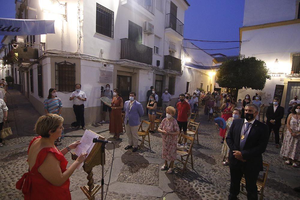 Vialucis de la virgen de Acá en el barrio de San Basilio