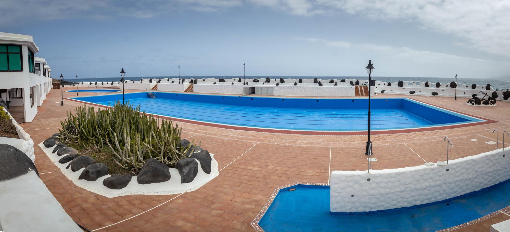 Situación de la piscina de Los Silos