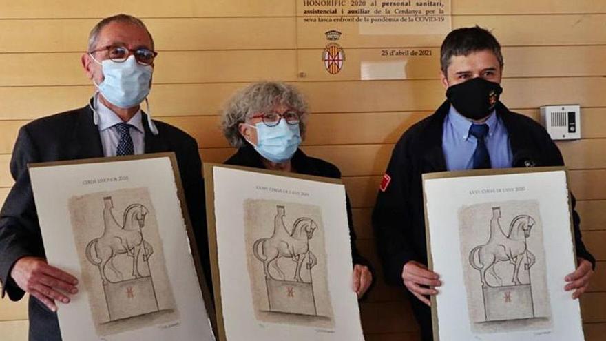 El cos de Bombers de Puigcerdà guanya el premi Cerdà de l'Any 2020