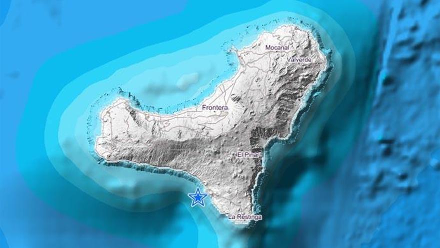 Terremoto de magnitud 3 en El Hierro