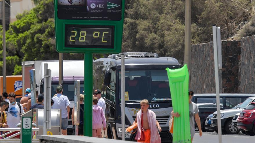 Gran Canaria, Lanzarote y Fuerteventura, al 'rojo vivo' este sábado por temperaturas cercanas a las 40 grados