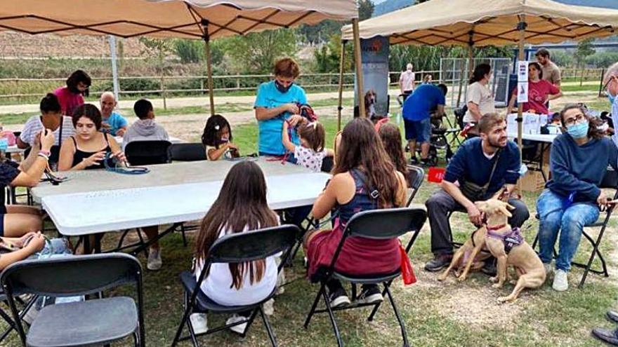 La festa dels animals de companyia de Vilanova del Camí recapta més de 500 euros