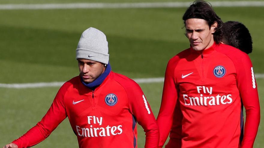 Neymar se disculpa con sus compañeros tras la polémica con Cavani