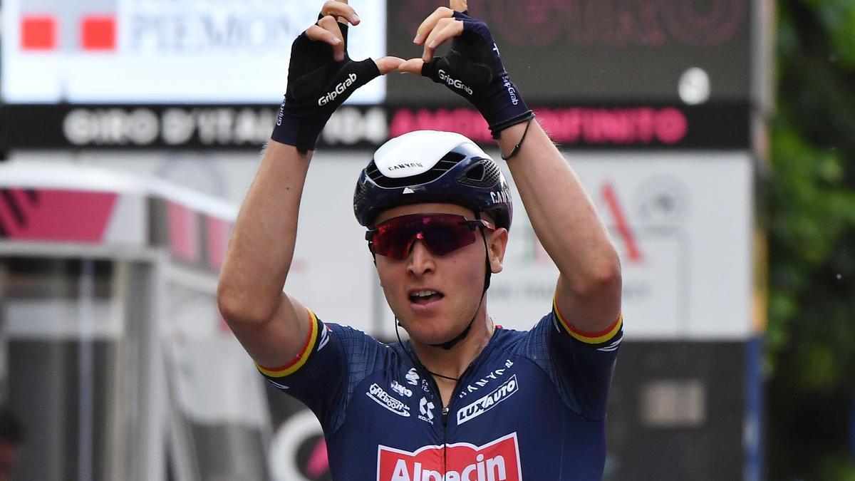 El ciclista belga Tim Merlier
