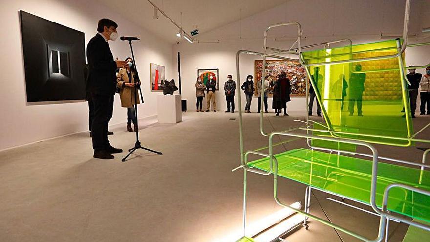 El Museo de Bellas Artes expone en Piedras Blancas sus últimos fondos