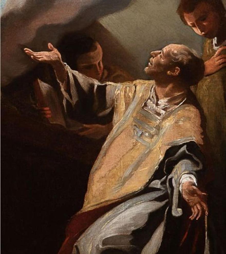 La estela de Corrado Giaquinto en España. De Antonio González Velázquez y Francisco Bayeu a Goya