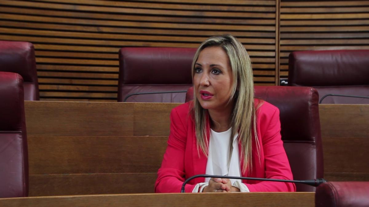 Verónica Marco, en las Corts