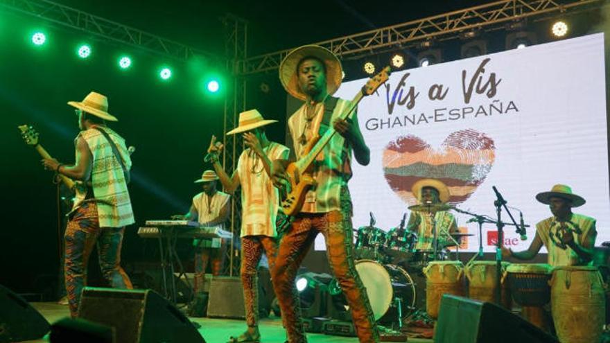 Ghana será el país invitado por Arona al festival de Músicas Mestizas, Mumes