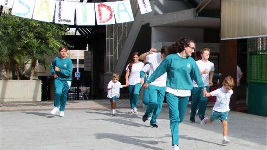 El Liceo La Paz participó en la Semana Europea del Deporte