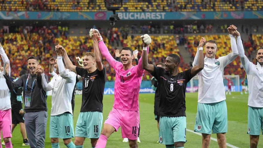 Àustria fa història (3-1)