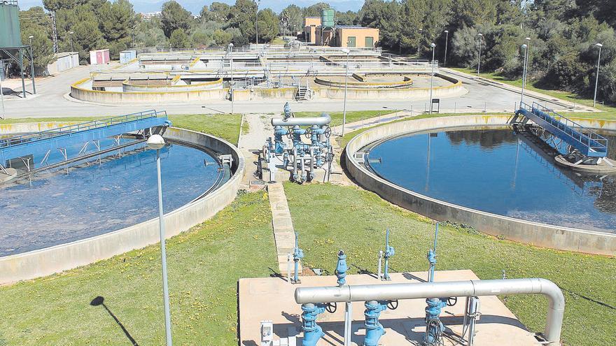 El 31% del agua que llega a las depuradoras de Balears contiene altos niveles de contaminación química