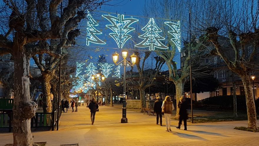 El lugar de Vigo donde todavía es Navidad
