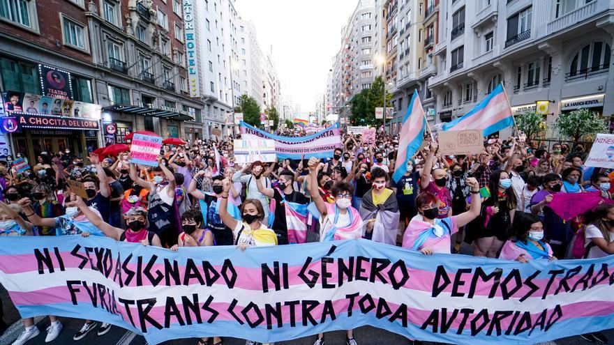 """Echa a andar la """"ley trans"""""""