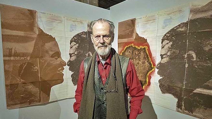 """Nils Burwitz: """"Un cuadro es una demostración de libertad, pero también de tus miedos"""""""