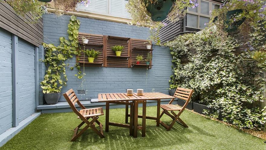 Terrazas, balcones y patios de primavera