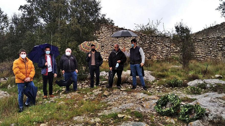 Homenaje en los despoblados moriscos de Alcalà al gran medievalista Pierre Guichard