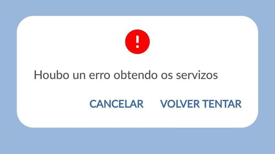 La web del Sergas se colapsa ante la apertura de la autocita para los menores de 20 años