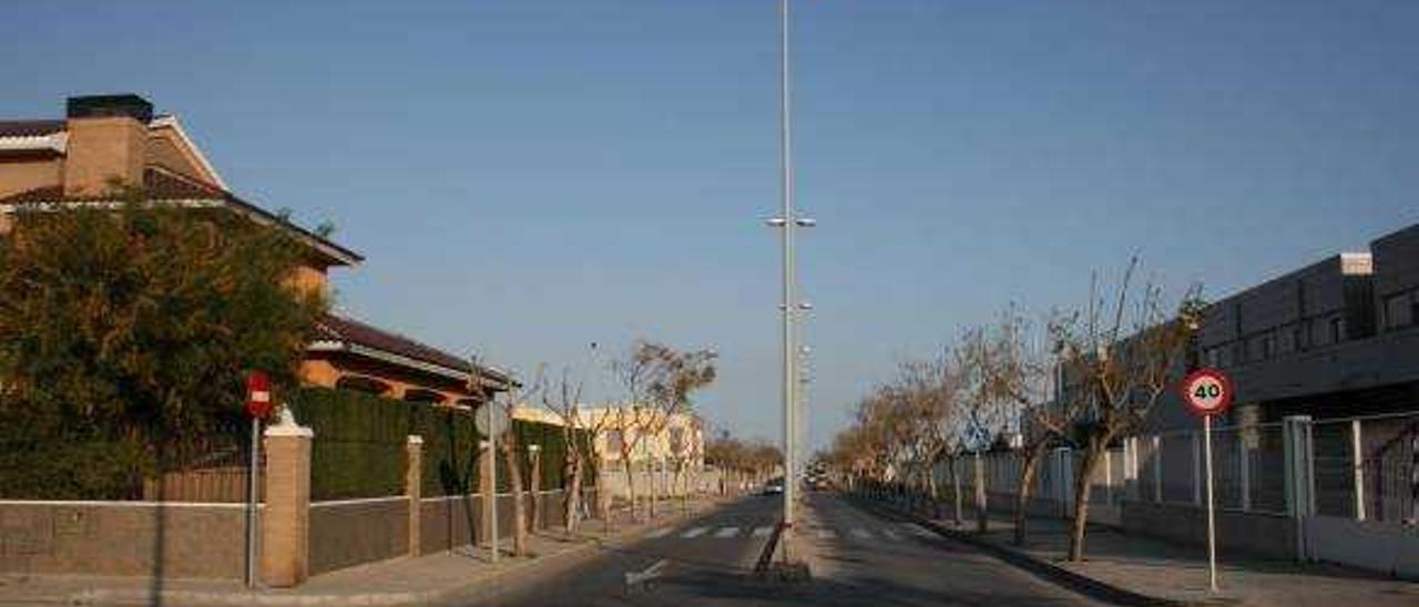 Almassora aprueba el plan para ajustar los gastos por la avenida Generalitat