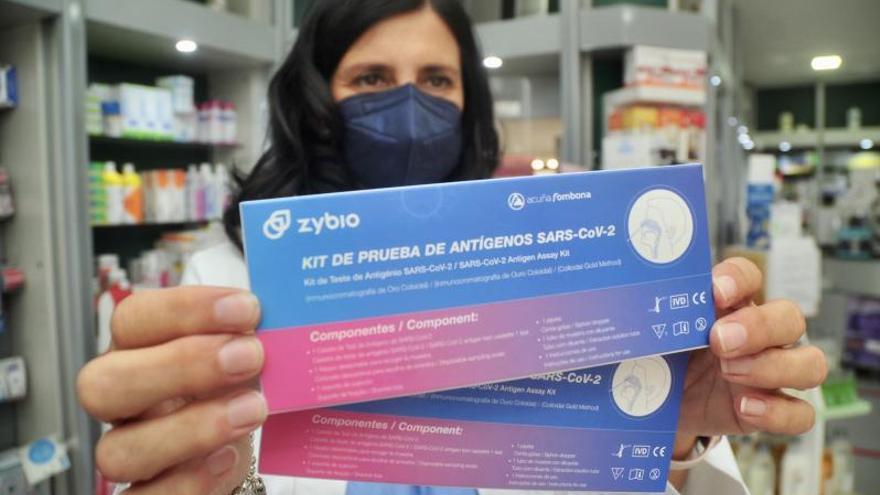Se dispara en la ciudad la demanda de test de autodiagnóstico, a la venta sin receta desde hoy
