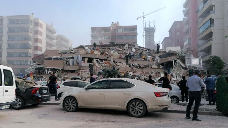 Terremoto en Turquía: misión, rebuscar entre las ruinas