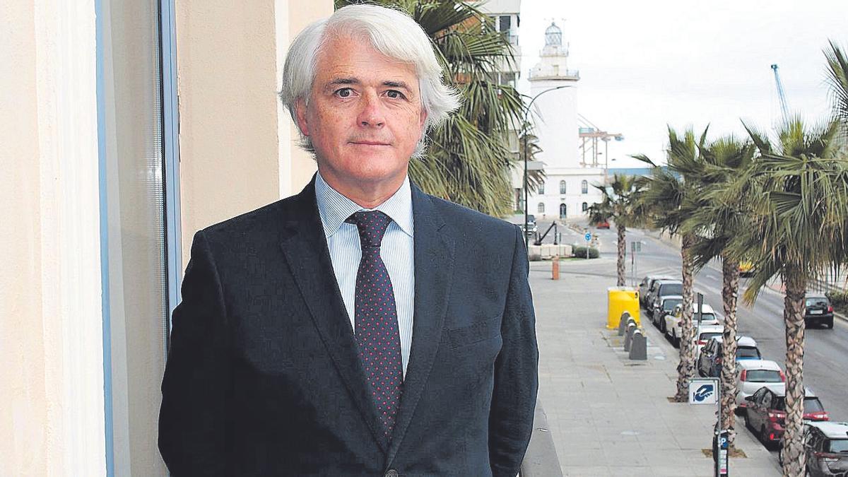 Salvador González Martín, decano del Colegio de Abogados de Málaga.