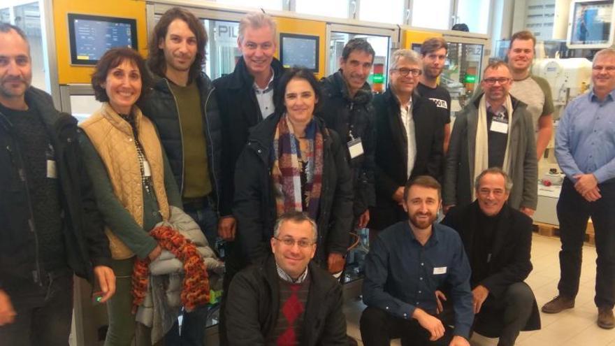 El CFP i l'institut Lacetània participen en un projecte europeu sobre formació i indústria 4.0