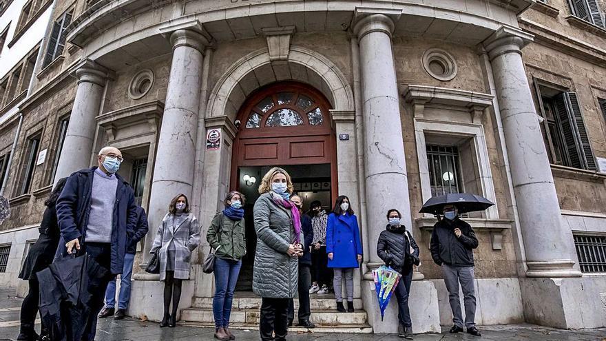 Solidaridad en Palma con una jueza atacada en Segovia