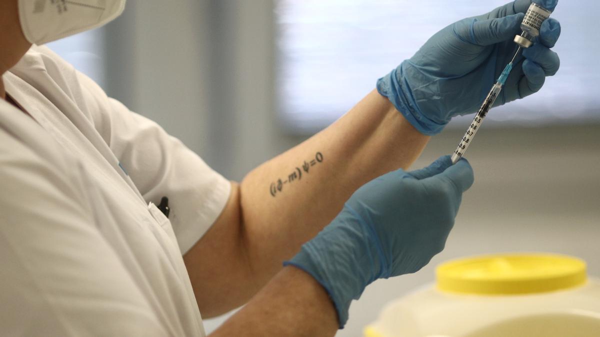 Vacunación contra la Covid-19 en Madrid.