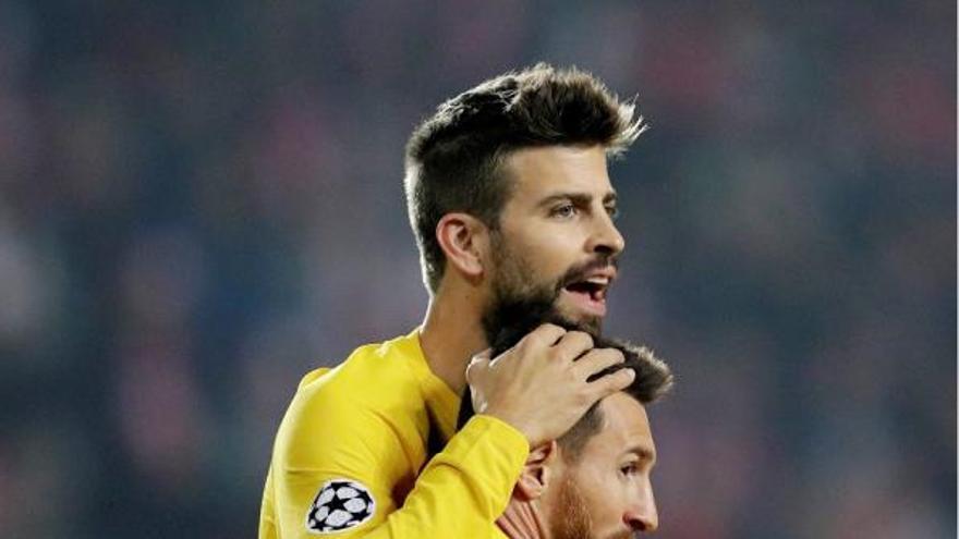 El Barça resisteix el setge de Praga i té un peu a vuitens