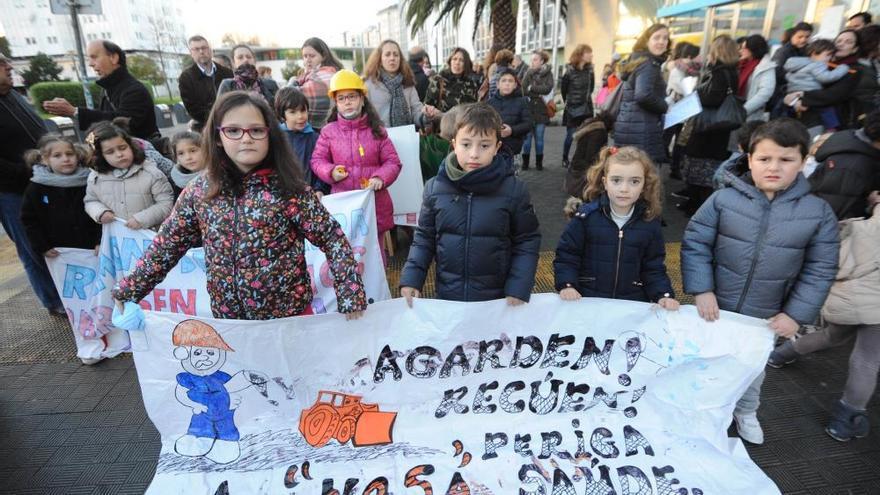 Alumnos del Ramón de la Sagra faltan a clase en protesta contra las obras