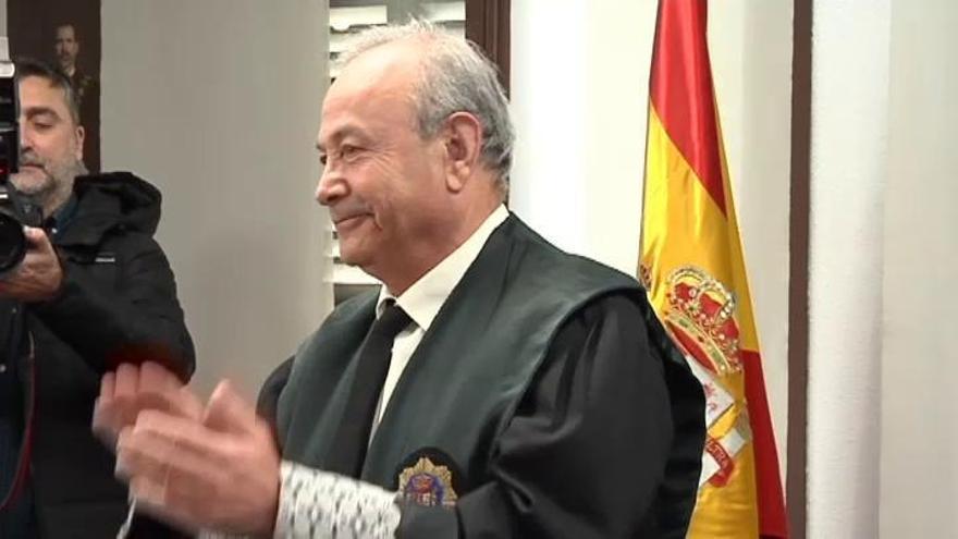 El juez Castro se jubila